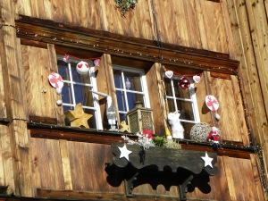 A Lot of the houses were beautifully decorated!