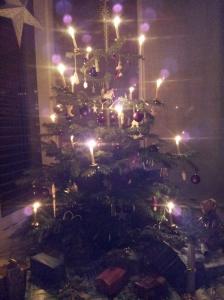 Traditional Swiss Christmas Tree