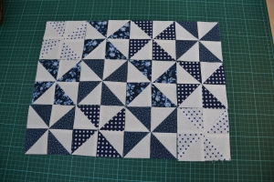 Hey maybe I can scratch the idea of making a quilt and just make a placemat?!