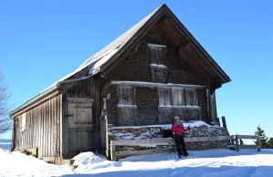 Another Alpine hut.