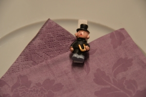 The Chimney Sweep is a symbol for luck here in Switzerland. Cute huh?