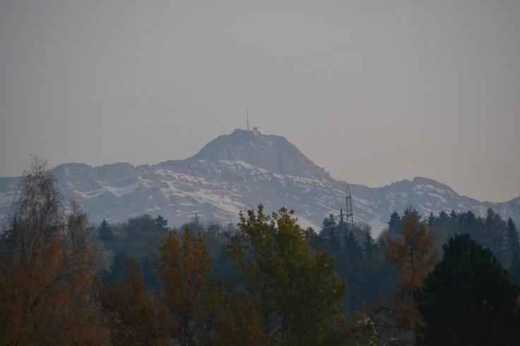The Säntis, Mountain, part of the Alpstein Mountain Range (taken by Countryboy/ Yves)