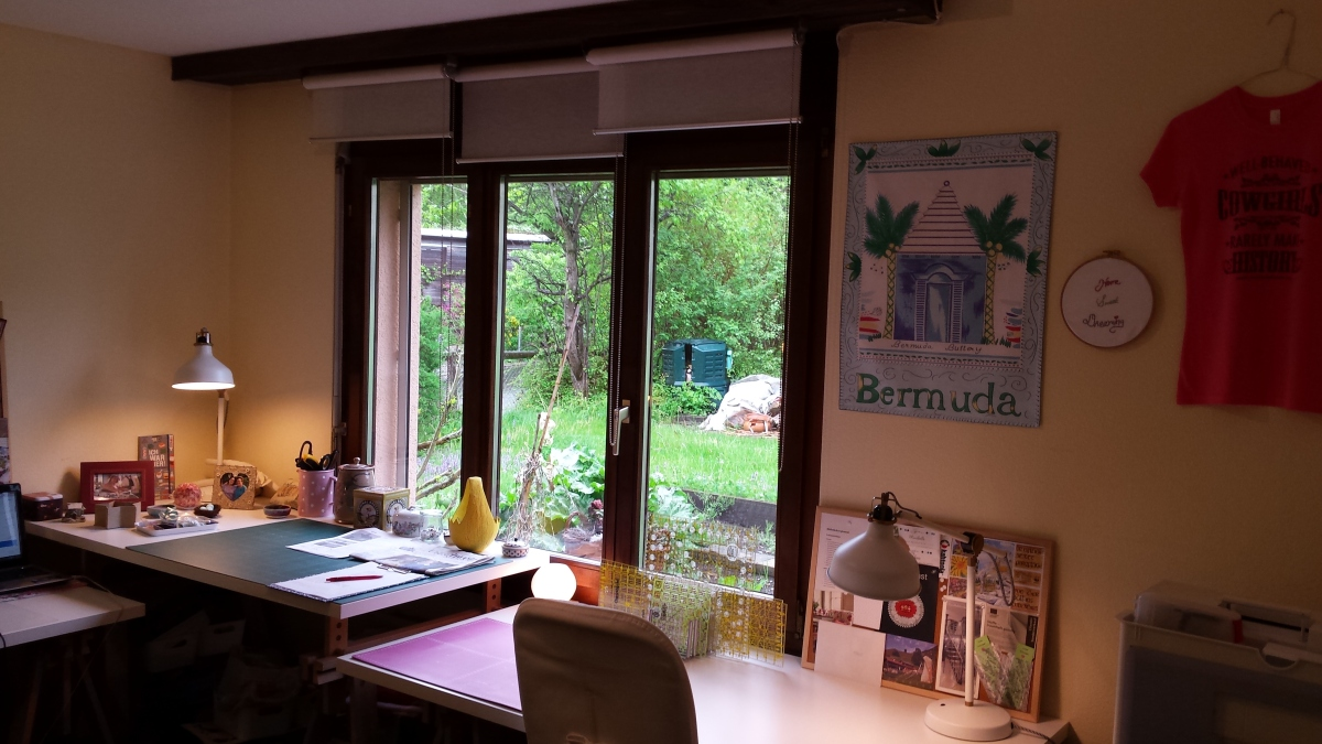 My New Sewing Studio  (May 2015)
